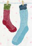 出会いの季節 / 鉛筆,折紙,フォトショップCS4