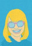 眼鏡ガール / 鉛筆,折紙,フォトショップCS4