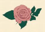 薔薇 / 鉛筆,折紙,フォトショップCS4