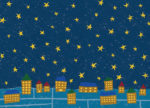星屑ナイト / 鉛筆,折紙,フォトショップCS4