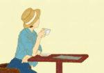 カフェ / 鉛筆,折紙,フォトショップCS4