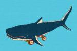 鯨車 / 鉛筆,折紙,フォトショップCS4