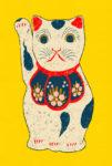 招き猫 / 鉛筆,折紙,フォトショップCS4
